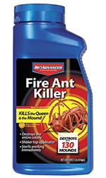 Bayer Fire Ant Killer to control weeds and pests